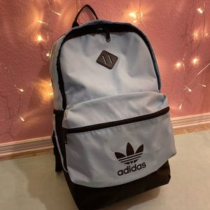 Adidas large mint blue backpack